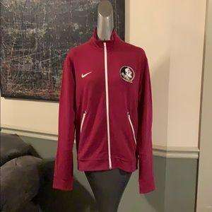 Nike Florida State Seminoles Zip Front Jacket